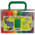 Poster Paint W/Carry Case 6/Pkg-