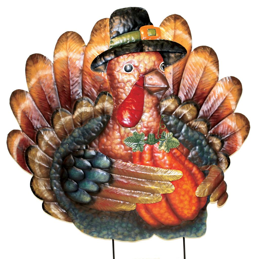 pd home garden 29 inch thanksgiving turkey yard decor - Pd Home And Garden