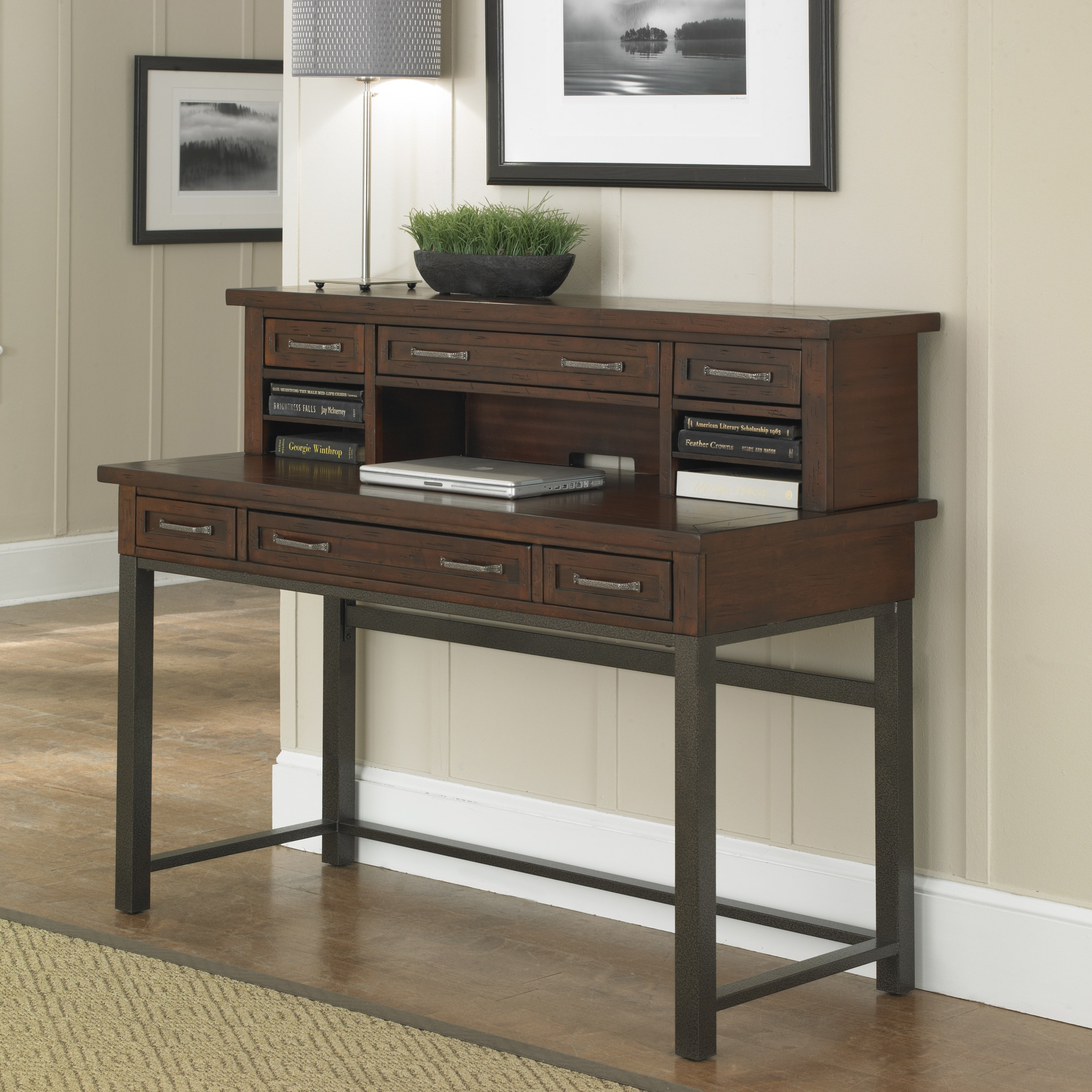ideas curved beautiful executive heritage desk hutch looking with office enjoyable clic sauder inspiration hill