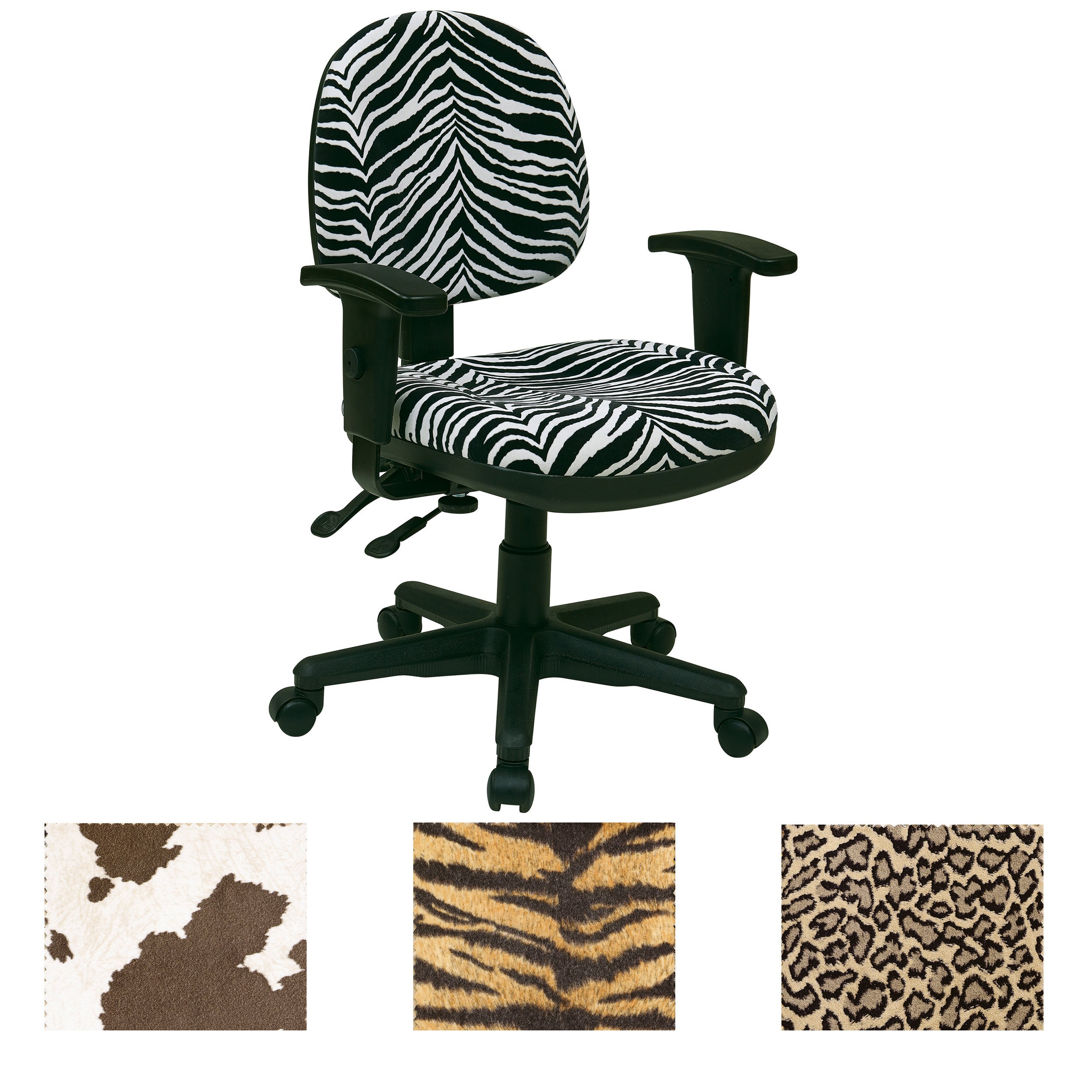 leopard print office chair. Office Star Animal Print Multi Controlled Sculpted Chair With Arms - Free Shipping Today Overstock 15113933 Leopard K