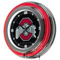 The Ohio State University Neon Clock