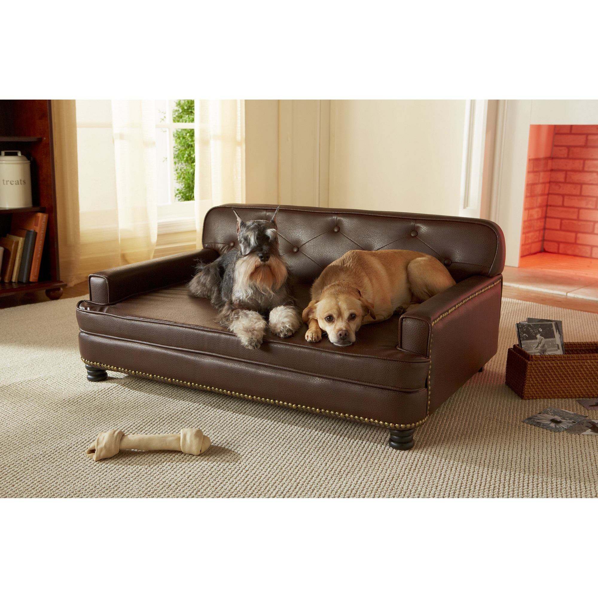 Shop Enchanted Home Pet Library Sofa - Free Shipping Today ...