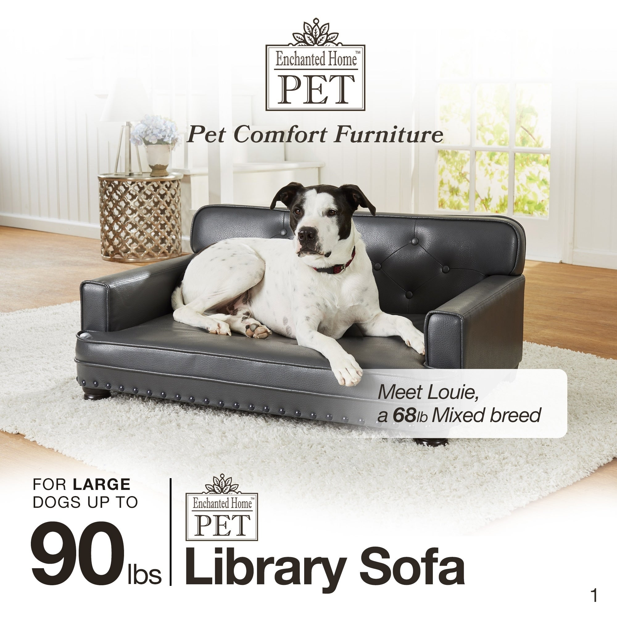 Shop Enchanted Home Pet Library Sofa   Free Shipping Today   Overstock.com    7712228