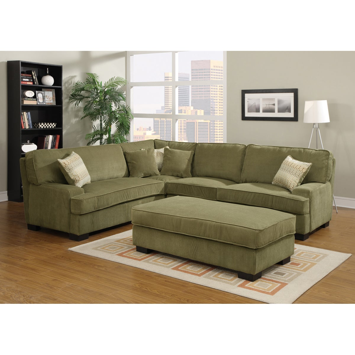 Shop noah olive green living room set free shipping today overstock com 7713060