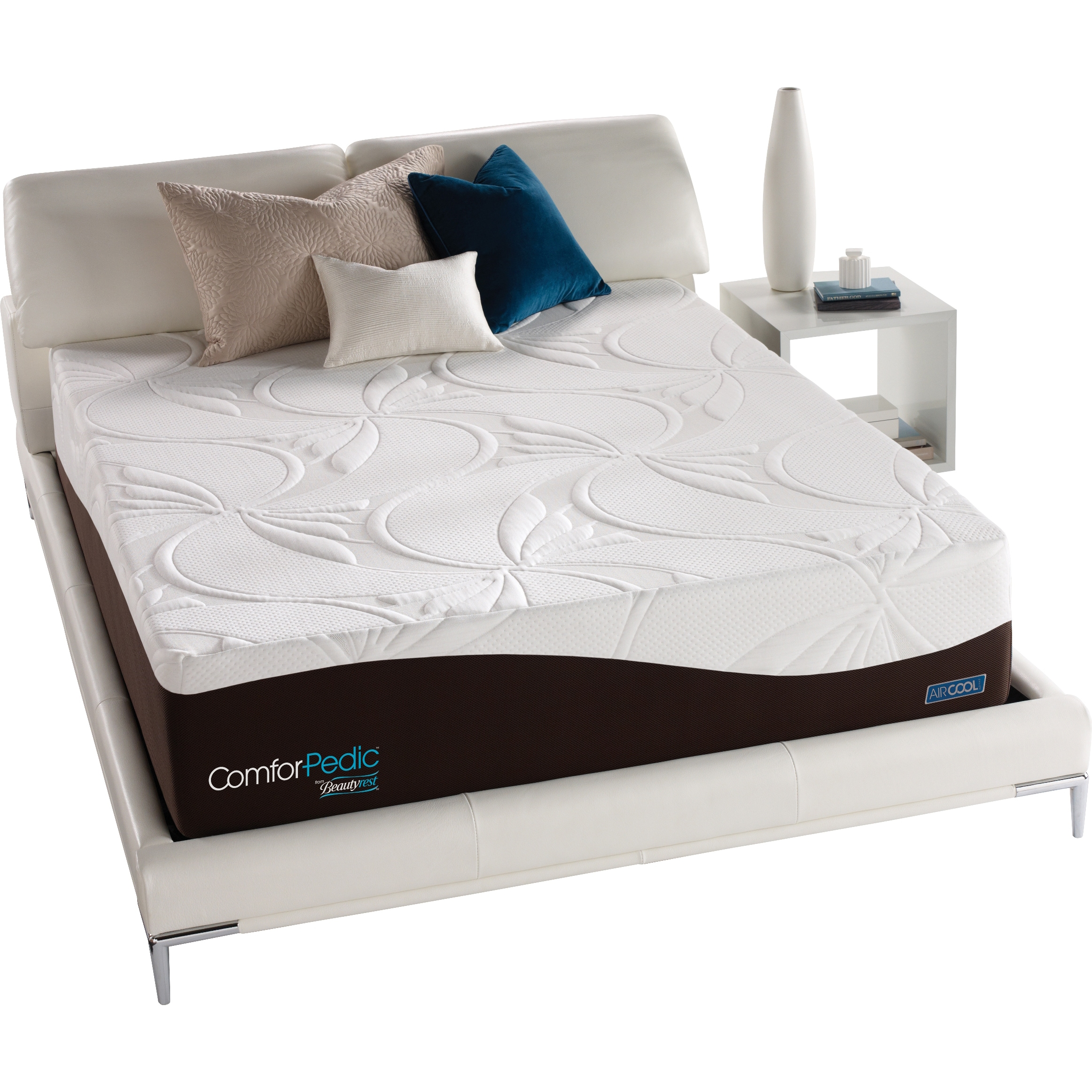 today comforter mattress free nourishing beautyrest comforpedic from set overstock product comfort garden home pedic plush shipping