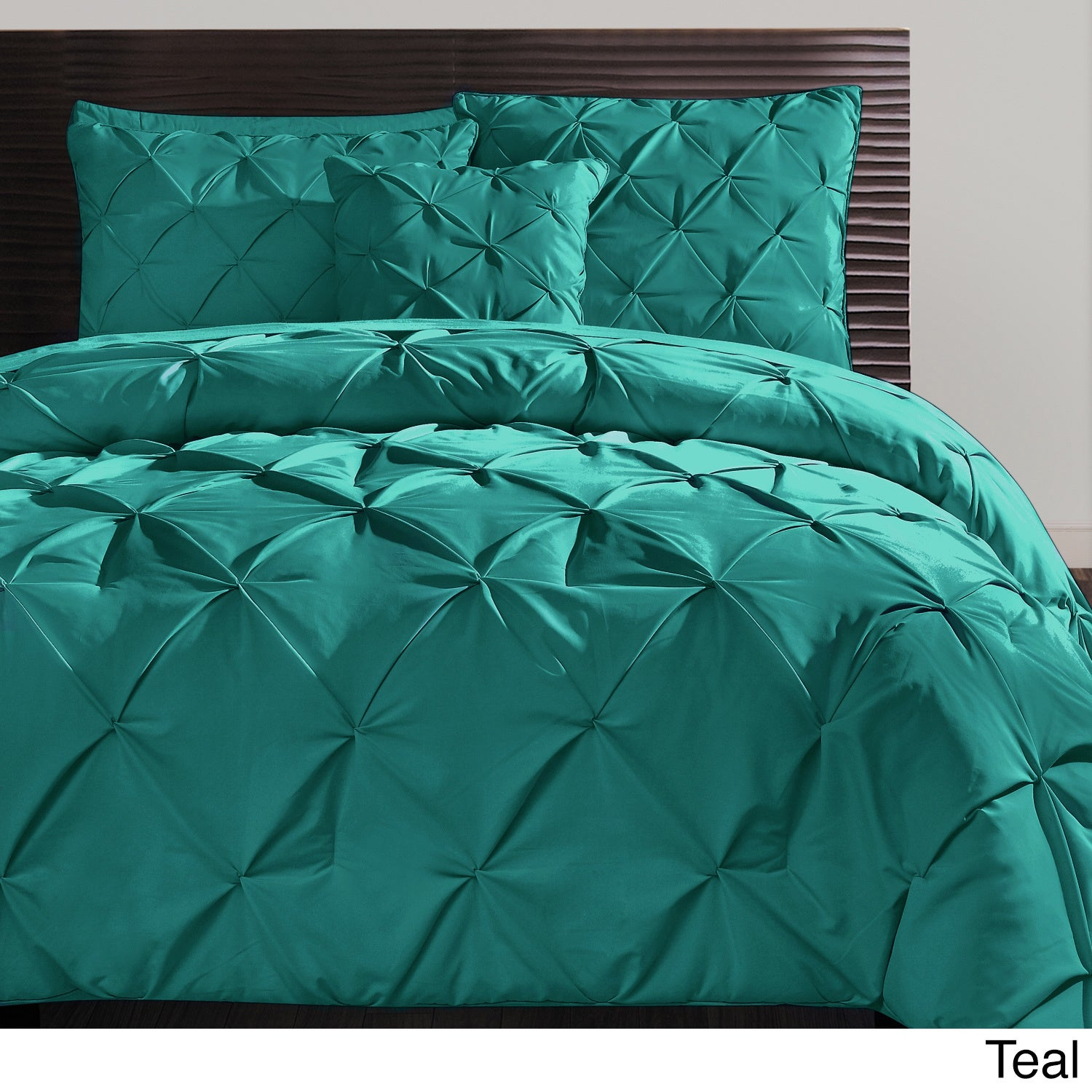 Superb VCNY Carmen 3 Piece Pintuck Duvet Cover Set   Free Shipping Today    Overstock.com   15125656