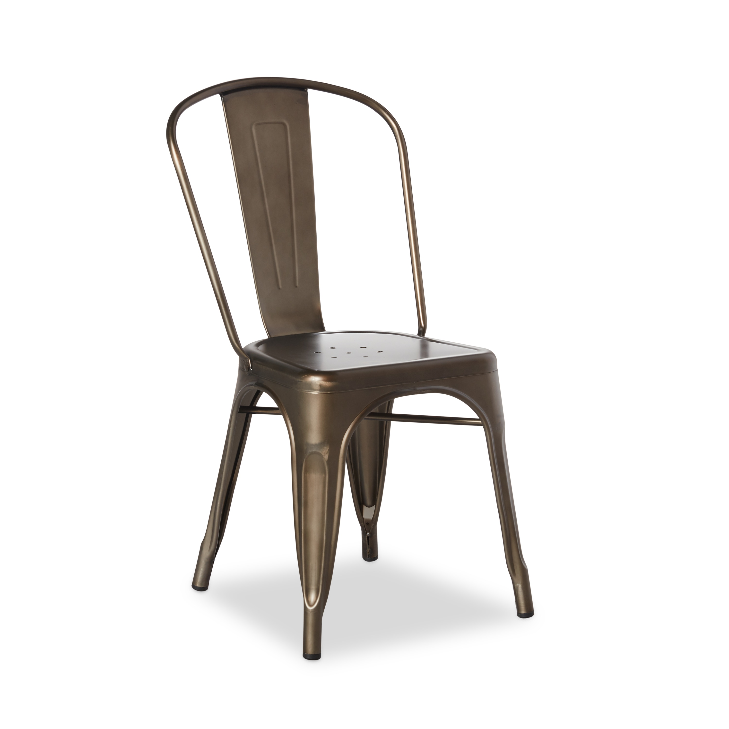 Charmant Shop Tabouret Bistro Steel Dining Chairs (Set Of 2)   Free Shipping Today    Overstock   7725495
