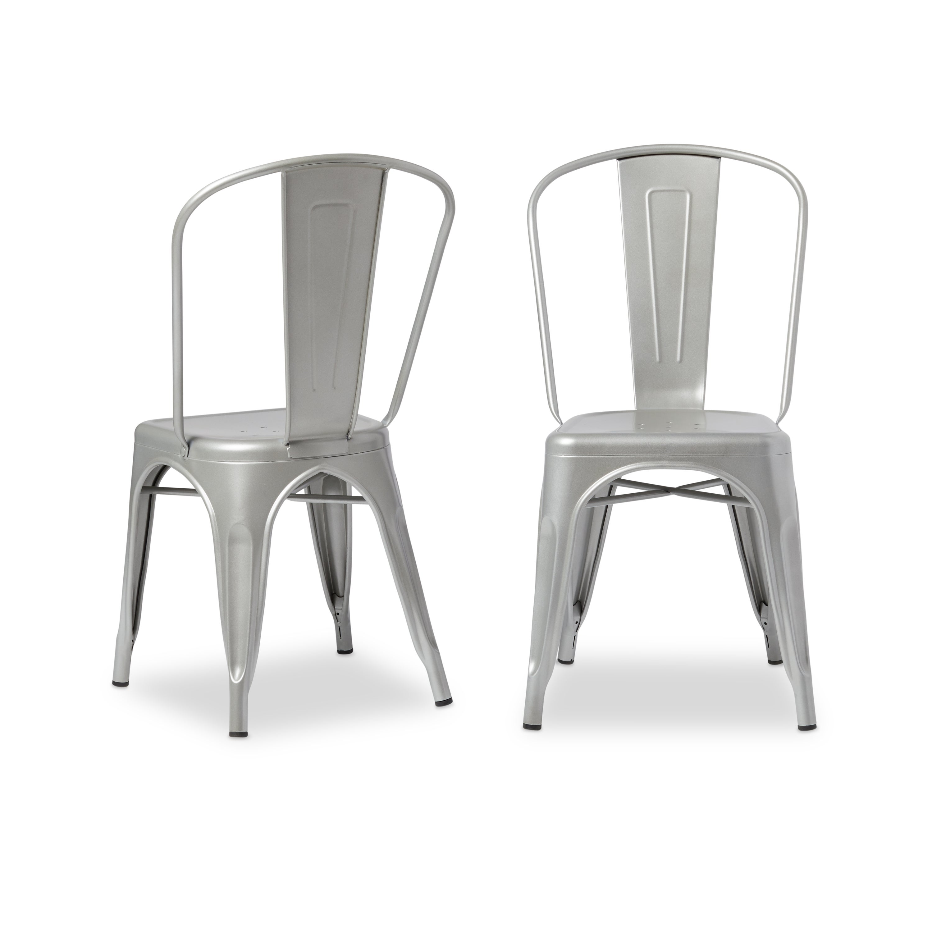 Superbe Shop Tabouret Bistro Steel Dining Chairs (Set Of 2)   Free Shipping Today    Overstock   7725495
