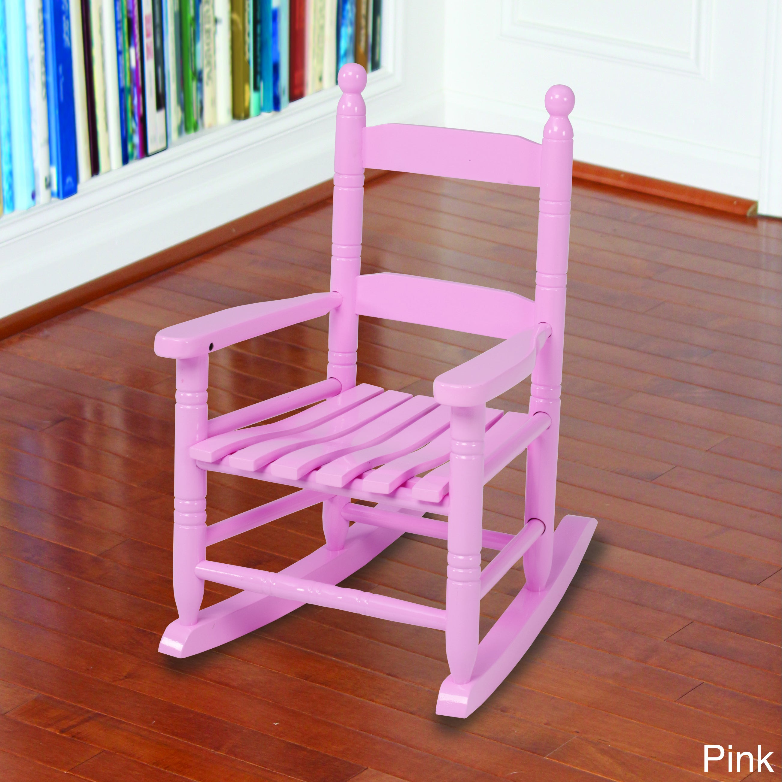 Shop Knollwood Classic Childu0027s Wood Porch Rocking Chair   Free Shipping On  Orders Over $45   Overstock.com   7729402