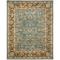 Safavieh Handmade Heritage Timeless Traditional Blue/ Brown Wool Rug (11' x 16')