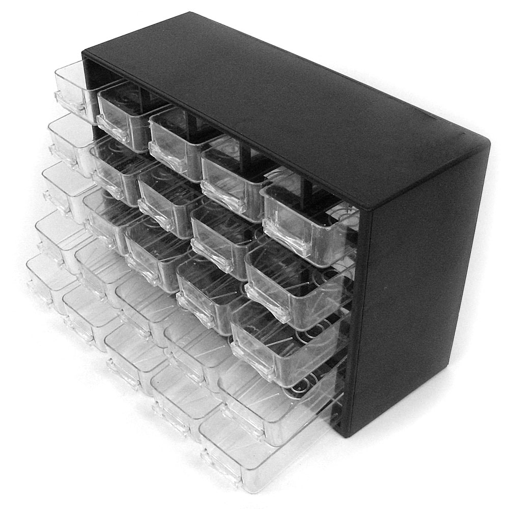 Shop Stalwart 25 Drawer Storage Box For Hardware Or Crafts   Free Shipping  On Orders Over $45   Overstock.com   7744383