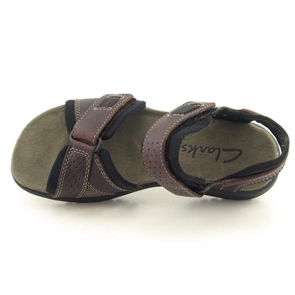 9aec366a24bb Shop Clarks Men s  Keating  Leather Sandals (Size 13) - Free Shipping Today  - Overstock - 7752107