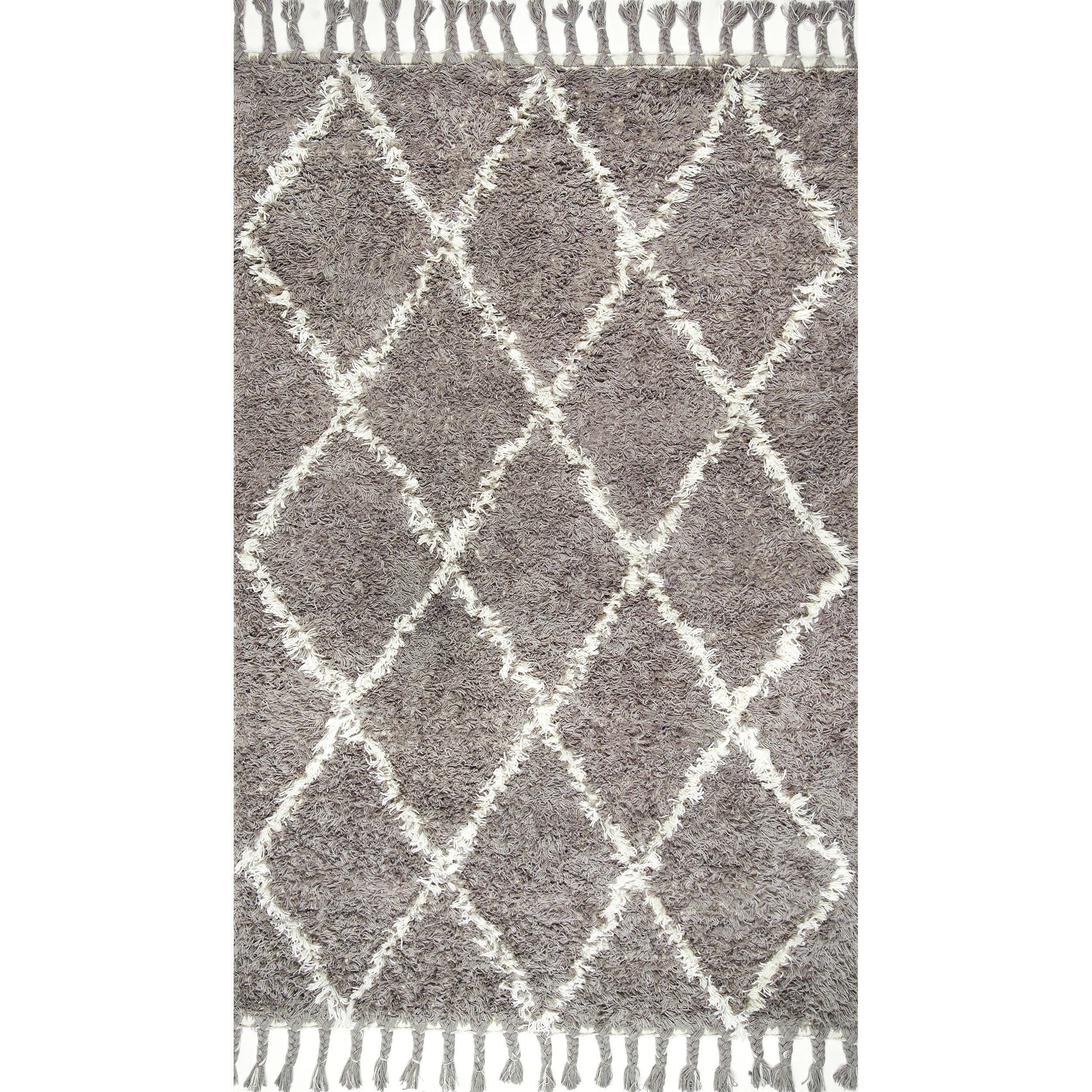 Oliver James Zoe Hand Knotted Wool Rug 5 X 8 Free Shipping Today 15179264
