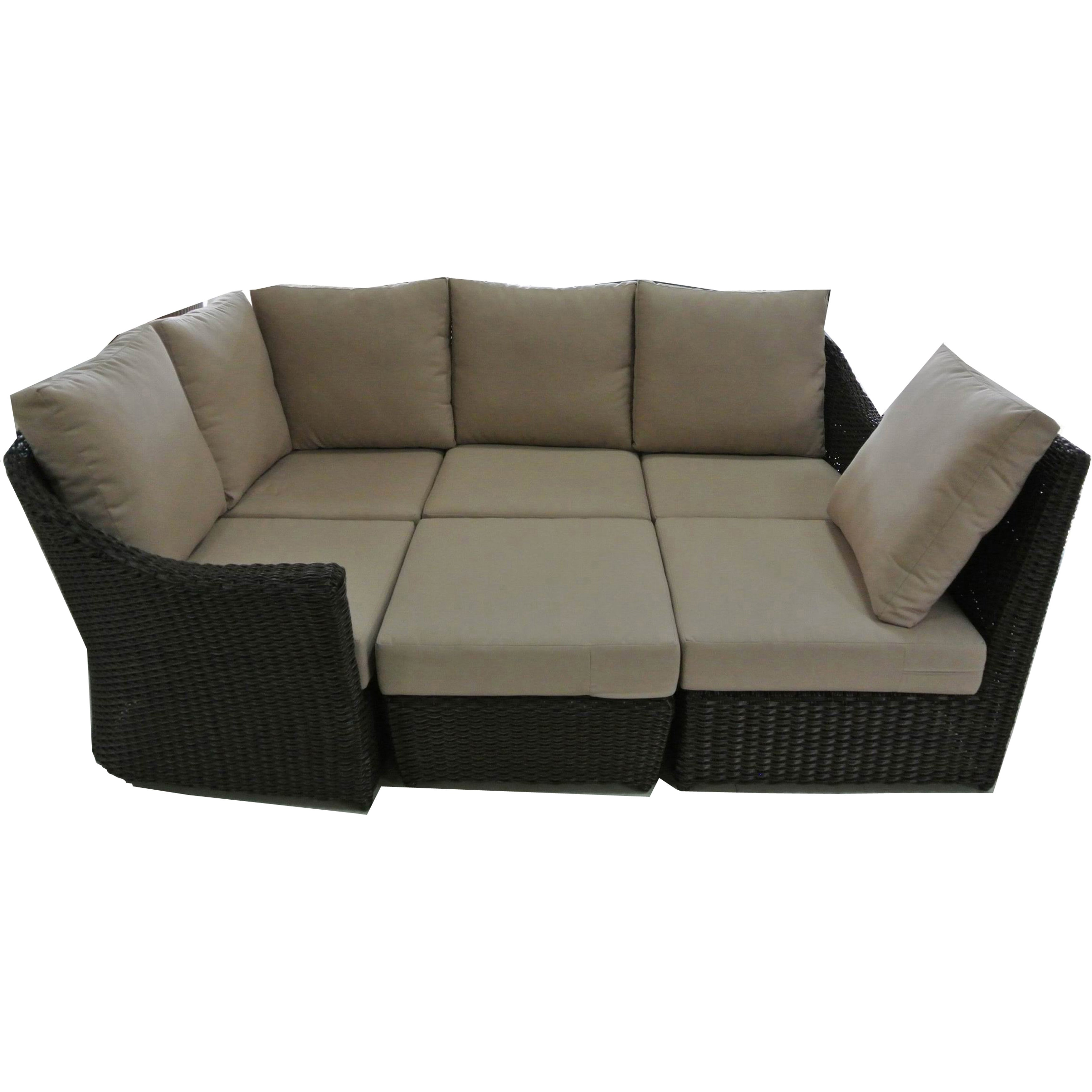 Pleasing Sirio Santra Eight Piece Outdoor Furniture Set Download Free Architecture Designs Aeocymadebymaigaardcom