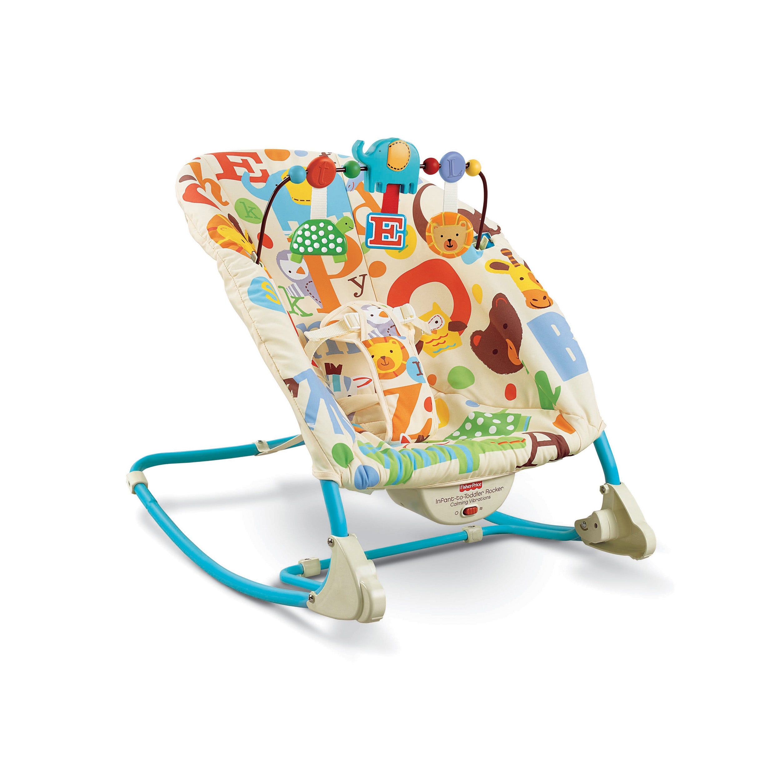 Shop Fisher Price Deluxe Infant To Toddler Rocker Free Shipping On Pink Orders Over 45 7784969