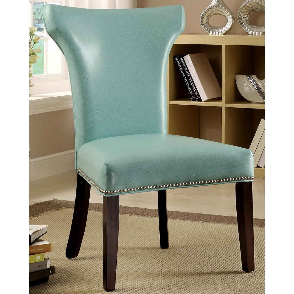 Shop Furniture of America Flarisa Contemporary Accent-Dining Chairs ...