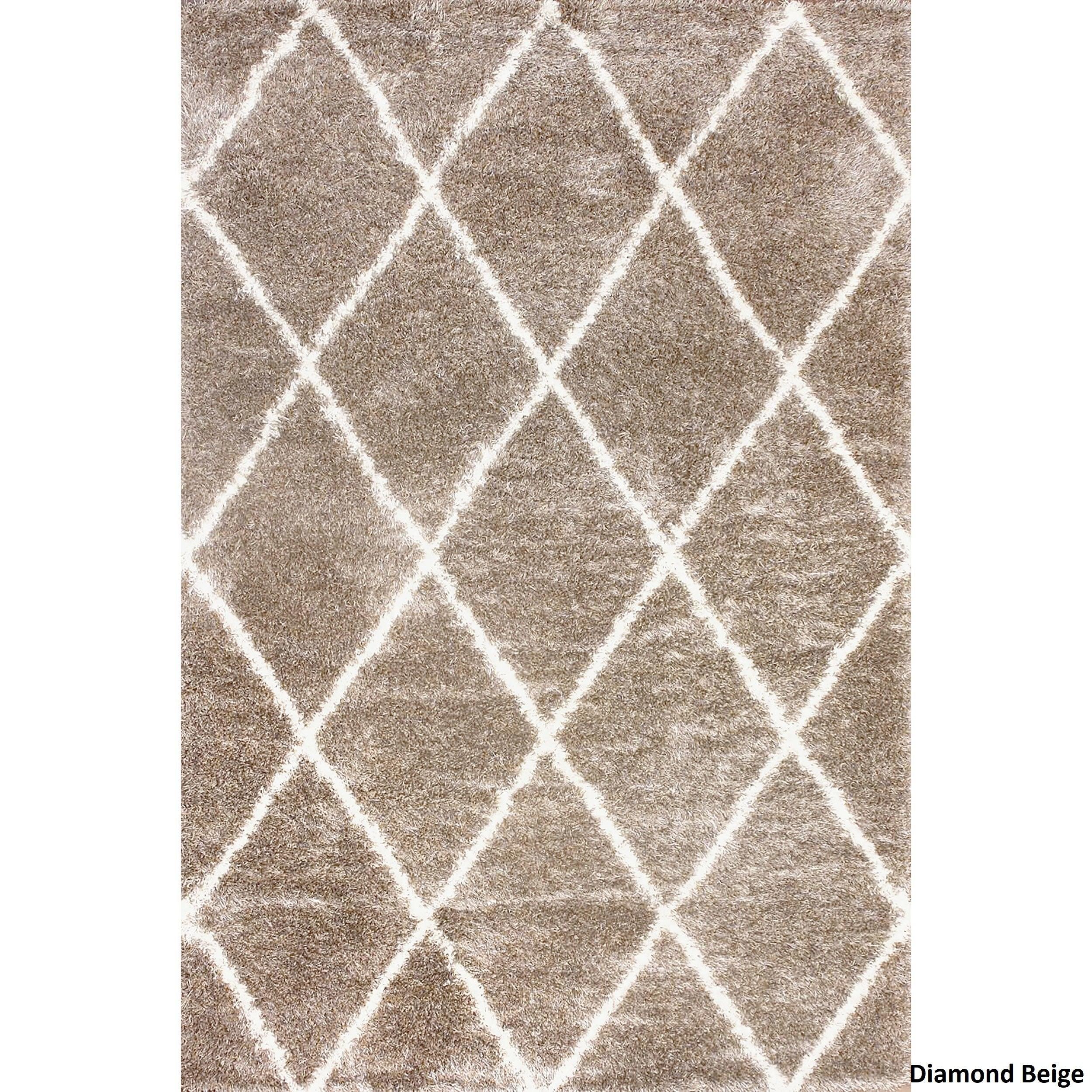 nuloom moroccanstyle trellis shag rug (' x ' )  free shipping today overstockcom  . nuloom moroccanstyle trellis shag rug (' x ' )  free shipping