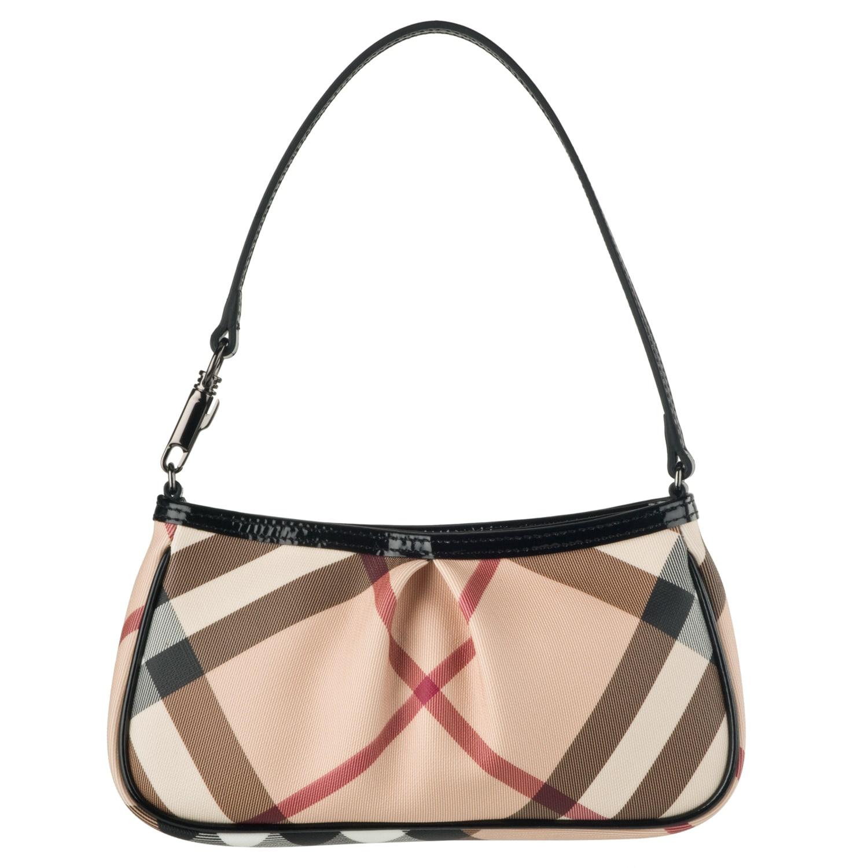 Burberry Small Nova Check Shoulder Bag