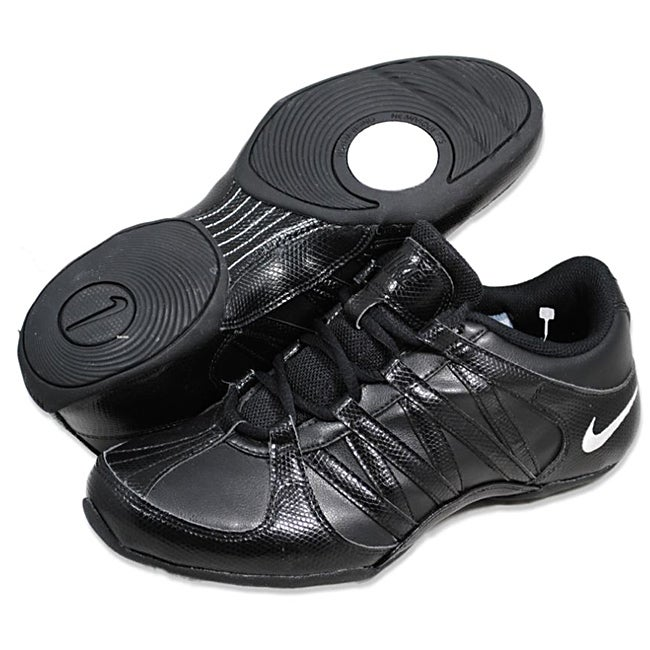 70b7e02fe10a7e Shop Nike Women s  Musique IV  Black Athletic Shoes - Free Shipping Today -  Overstock - 7828102