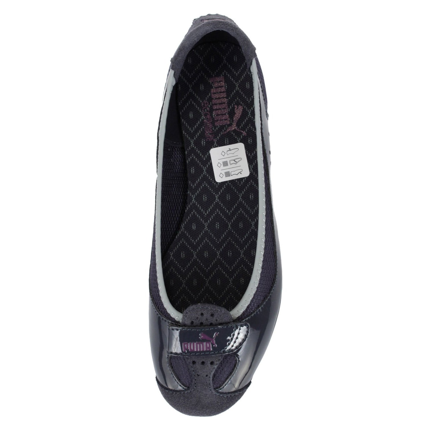 Shop Puma Women s  Zandy Native  Leather and Mesh Socklined Sporty Flats -  Free Shipping Today - Overstock - 7831710 8bdfaa732