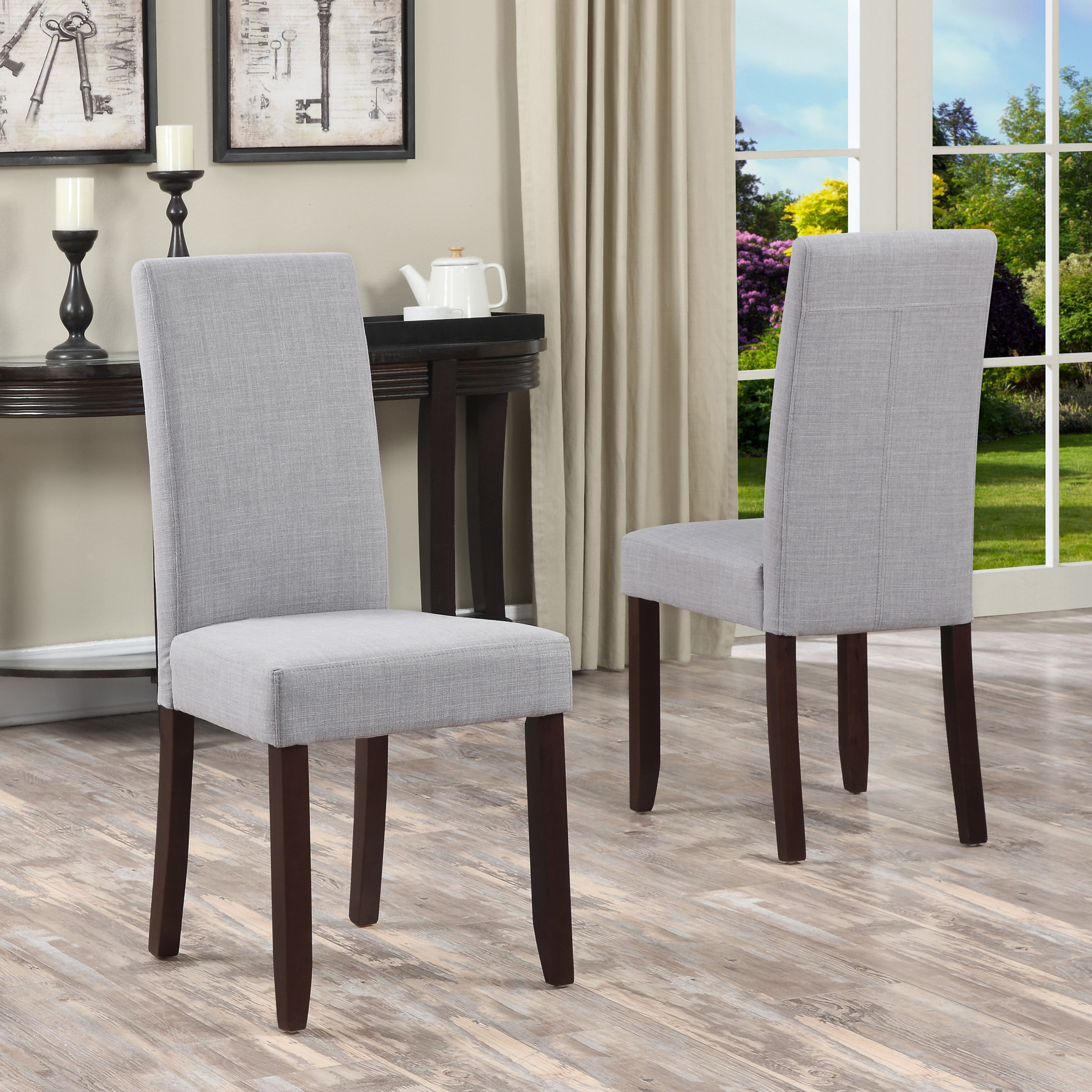 WYNDENHALL Normandy Parson Dining Chairs (Set of 2) - Free ...