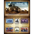 American Coin Treasures Railroad Commemorative Stamp Collection