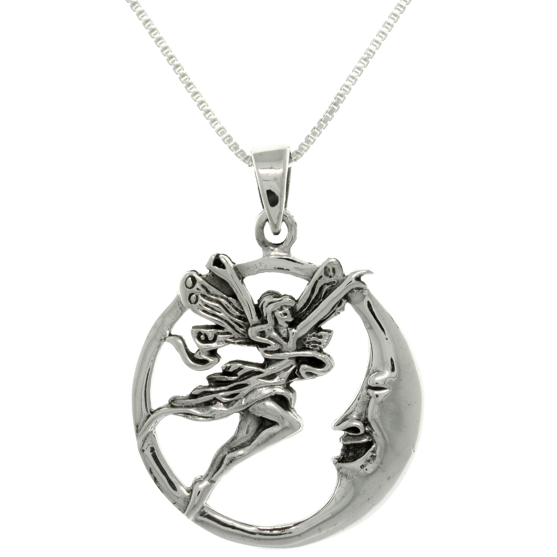 cgc silver necklace chain wing inch products butterfly sterling trends on fairy pendant rain enameled box jewelry