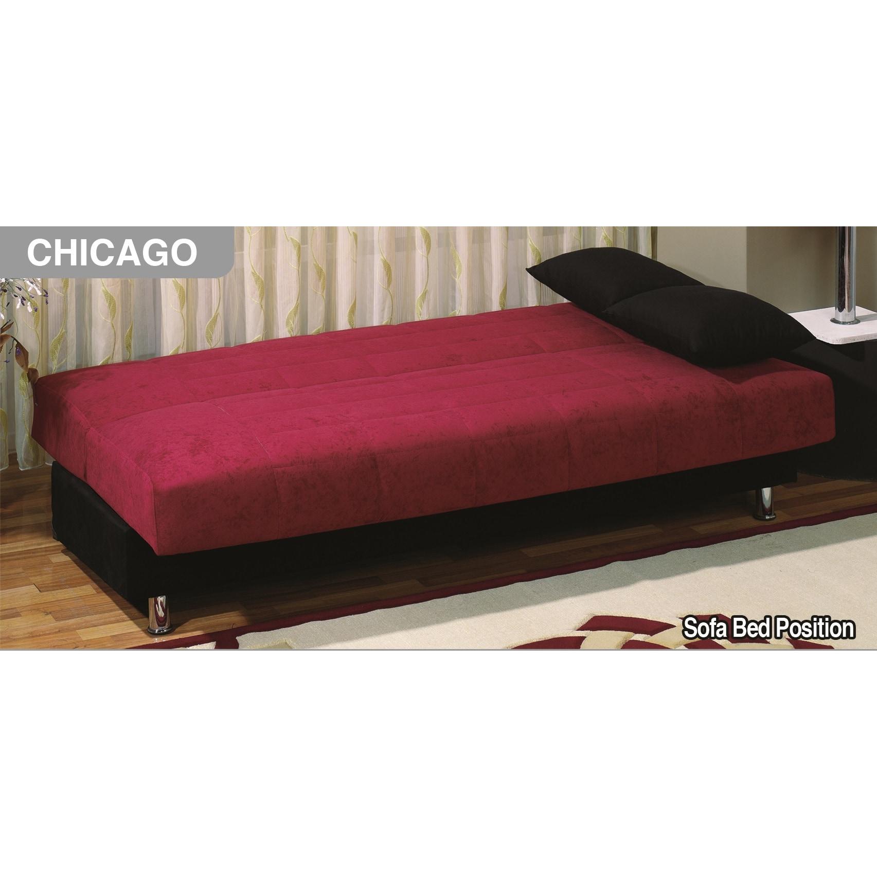 chicago sleeper futon sofabed   free shipping today   overstock     15243120 chicago sleeper futon sofabed   free shipping today   overstock      rh   overstock