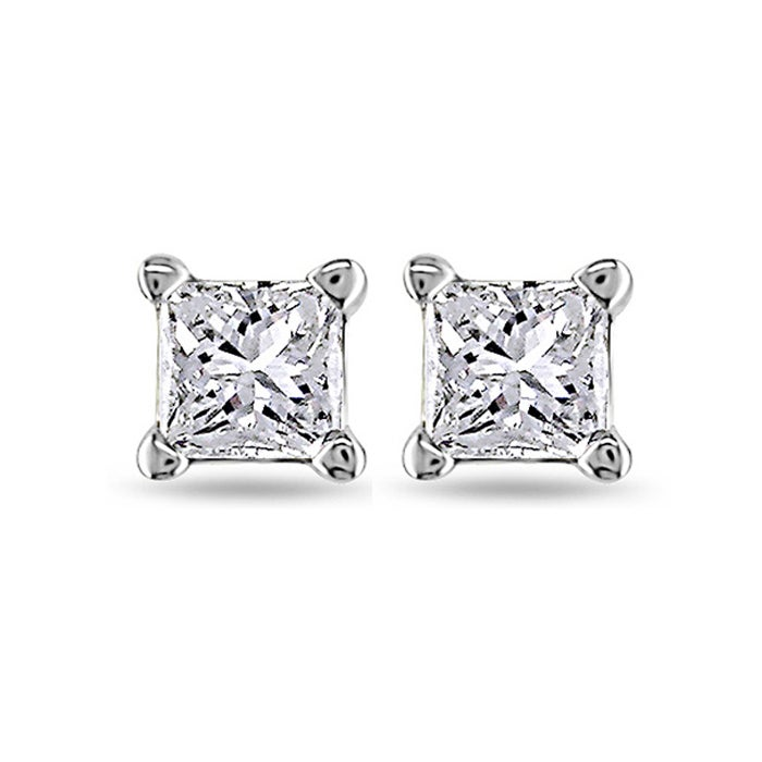 stud in carat platinum earrings fancy diamond view