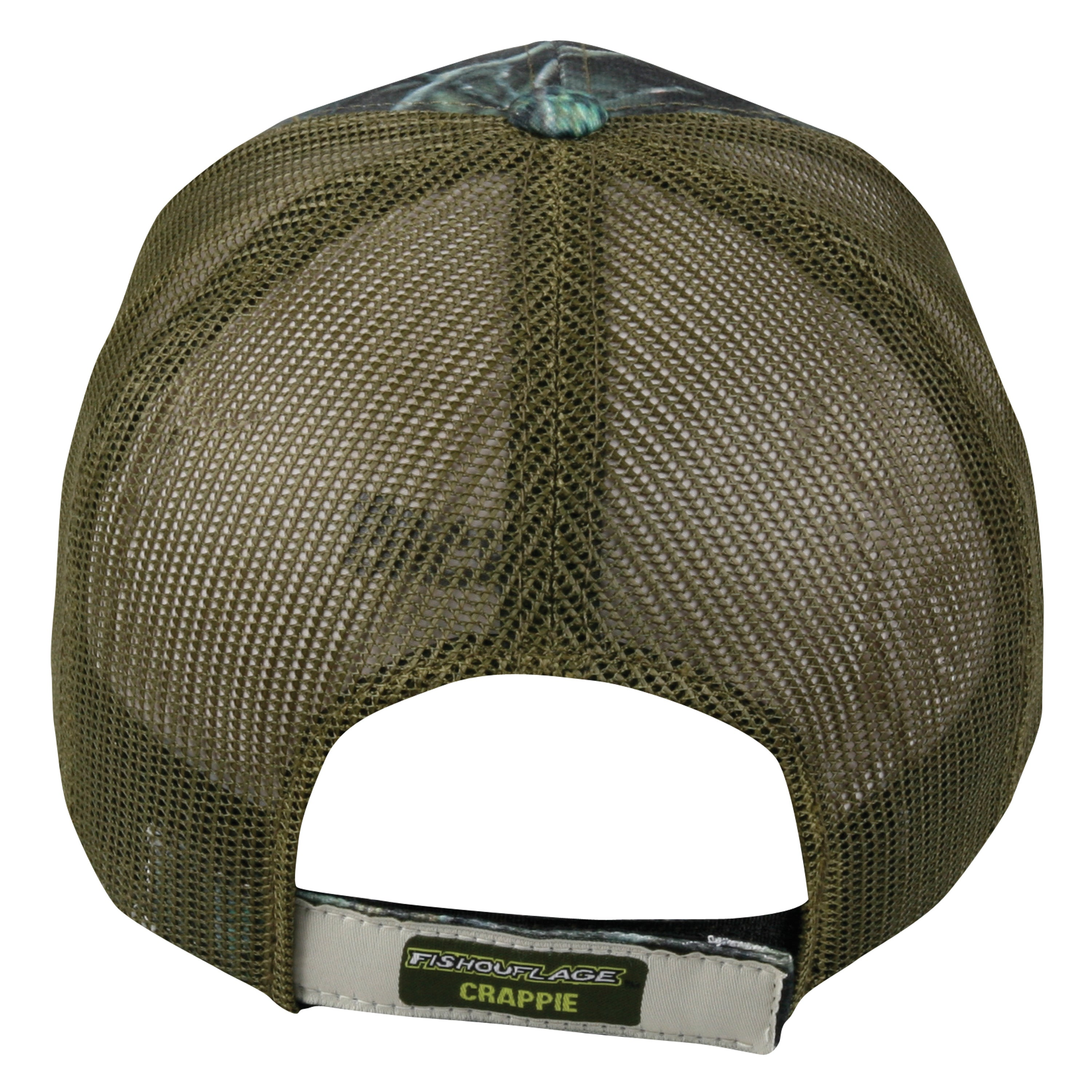 f8c488e3d500e Shop Fishouflage Camo Crappie Mesh Back Adjustable Hat - Free Shipping On Orders  Over  45 - Overstock - 7858584