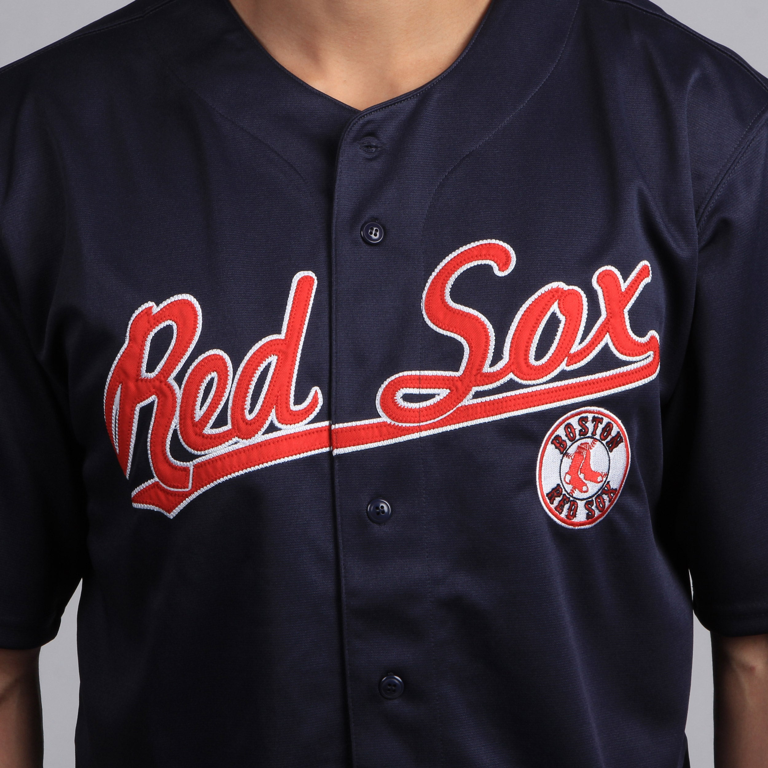 48ec39977 Shop Dynasty Men s MLB Boston Red Sox Jersey - Free Shipping On Orders Over   45 - Overstock - 7859993