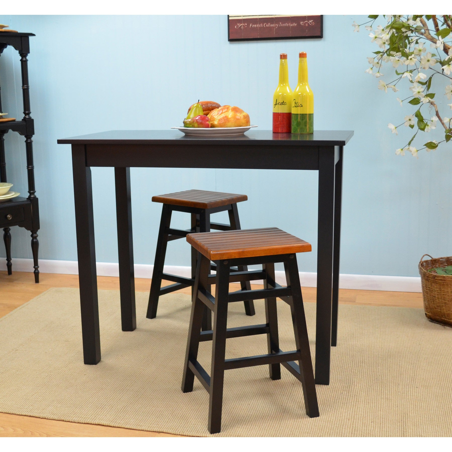 Shop Sonoma 24-inch Antique Counter Stool - Free Shipping Today ...