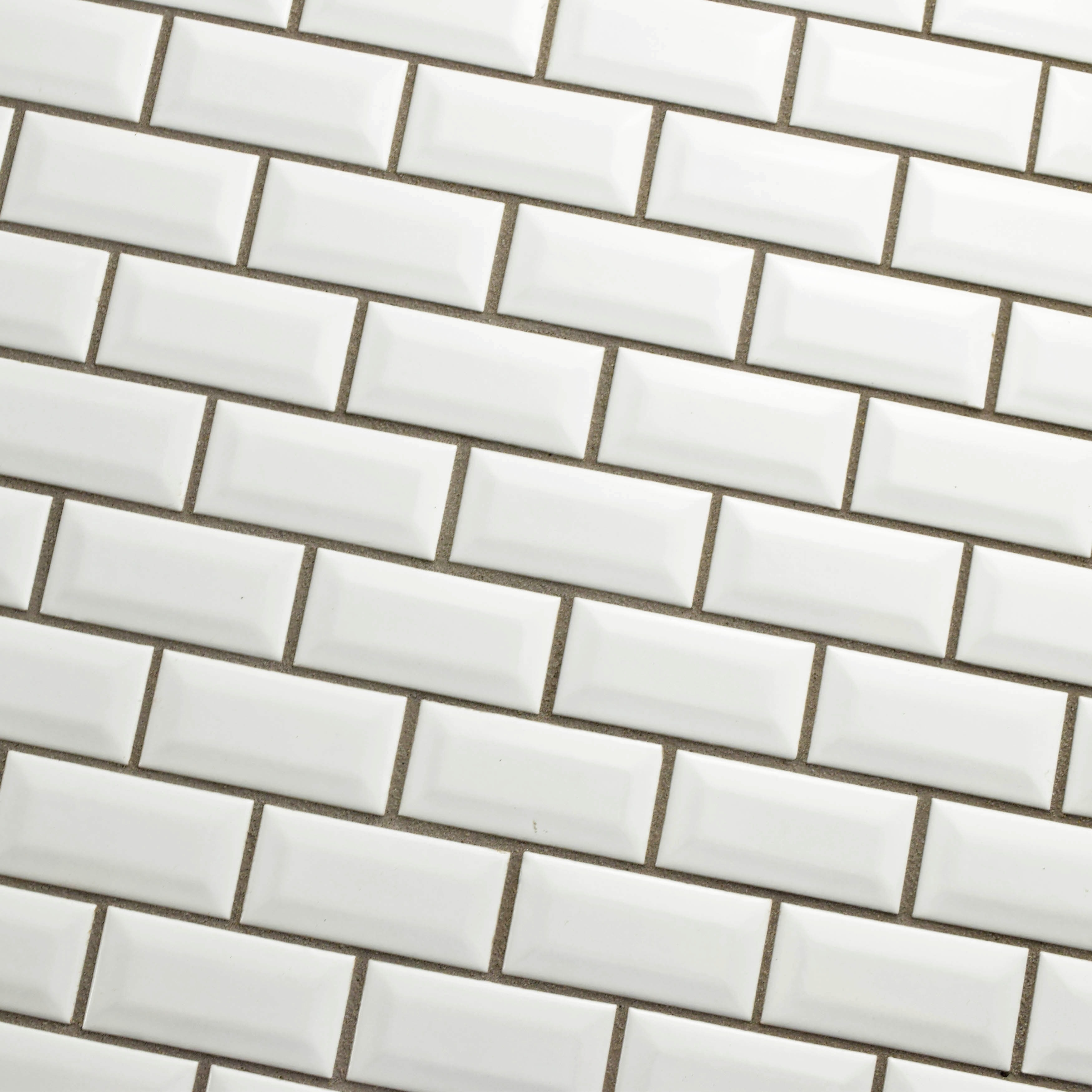 Somertile 12x12 inch victorian subway beveled white porcelain somertile 12x12 inch victorian subway beveled white porcelain mosaic floor and wall tile case of 10 free shipping today overstock 15251537 dailygadgetfo Gallery
