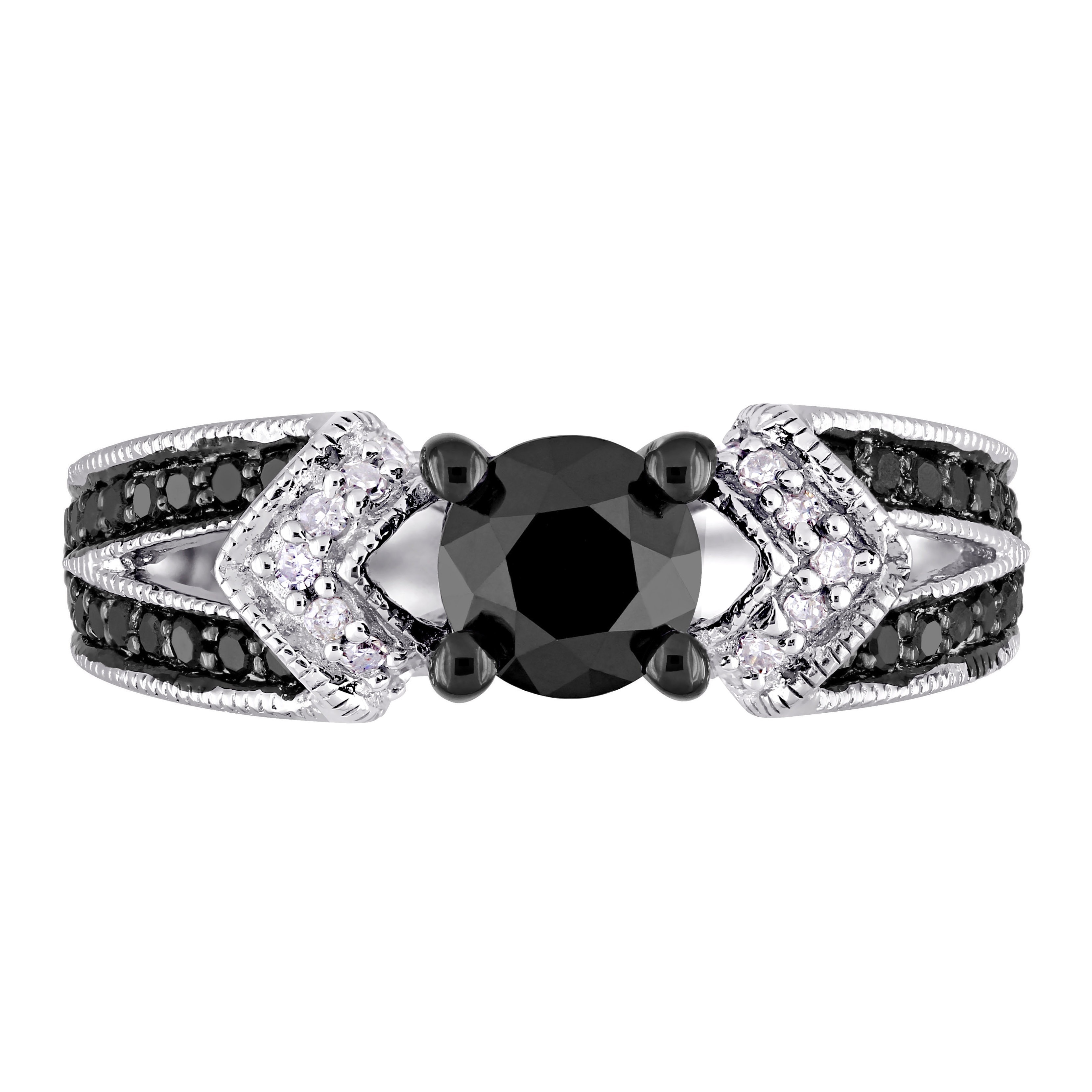 miadora white diamond product rhodium black overstock g sterling shipping split today ring engagement and with watches shank h by rings tdw silver free jewelry