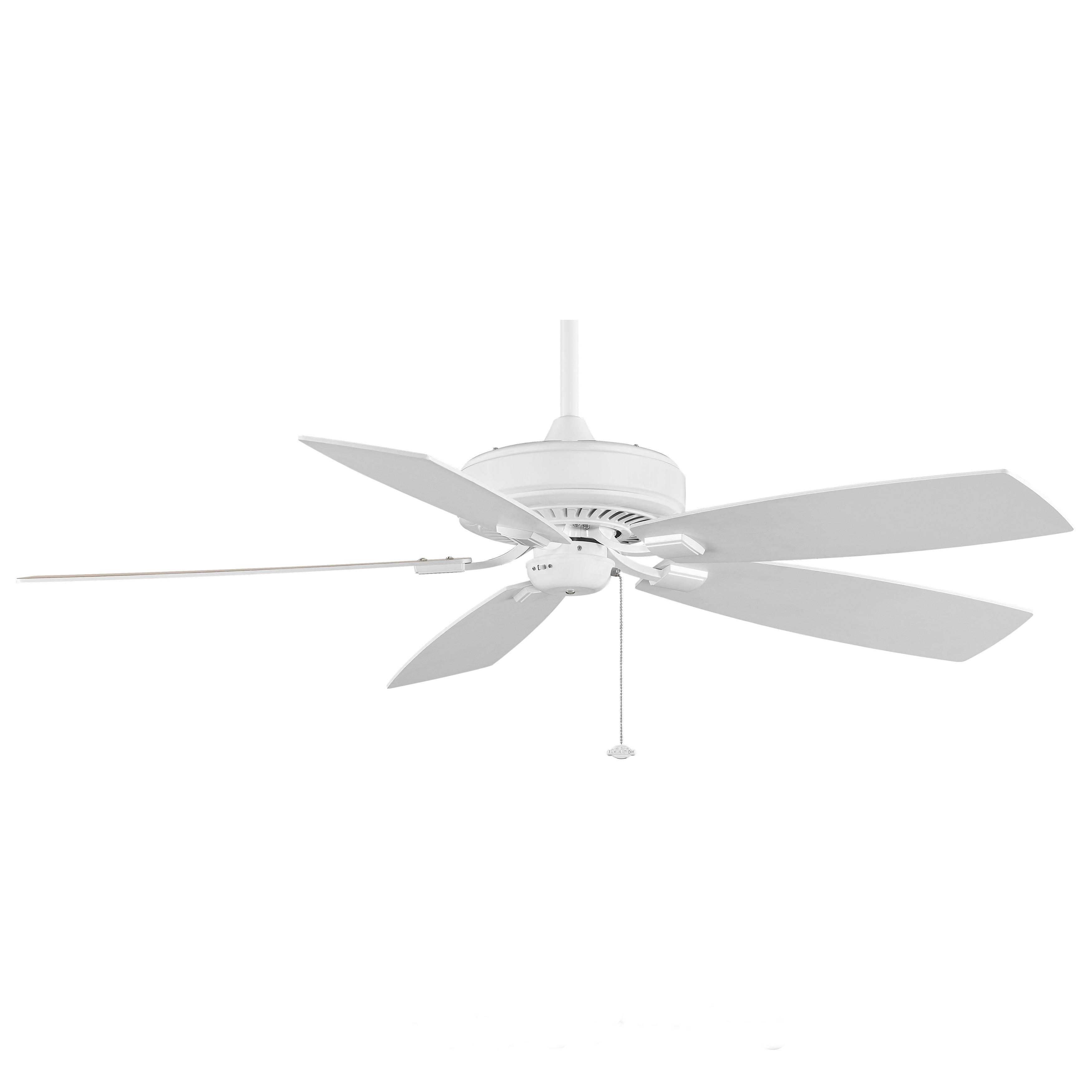 Fanimation Edgewood Deluxe 60 inch White Ceiling Fan Free