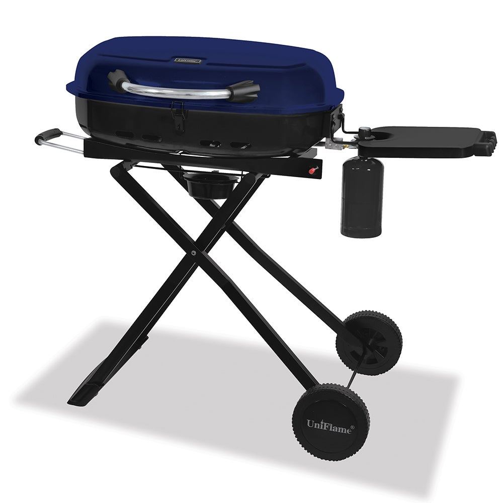 Delightful Shop Blue Rhino UniFlame Portable LP Gas Grill   Free Shipping Today    Overstock.com   7877981