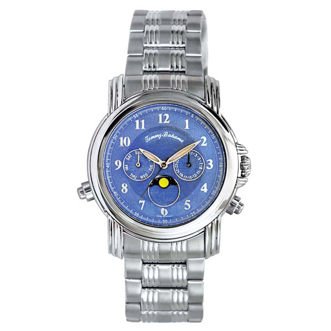 b7c45985d11 Shop Tommy Bahama Men's 'Chasing the Moon' Watch - Free Shipping Today -  Overstock - 7879479