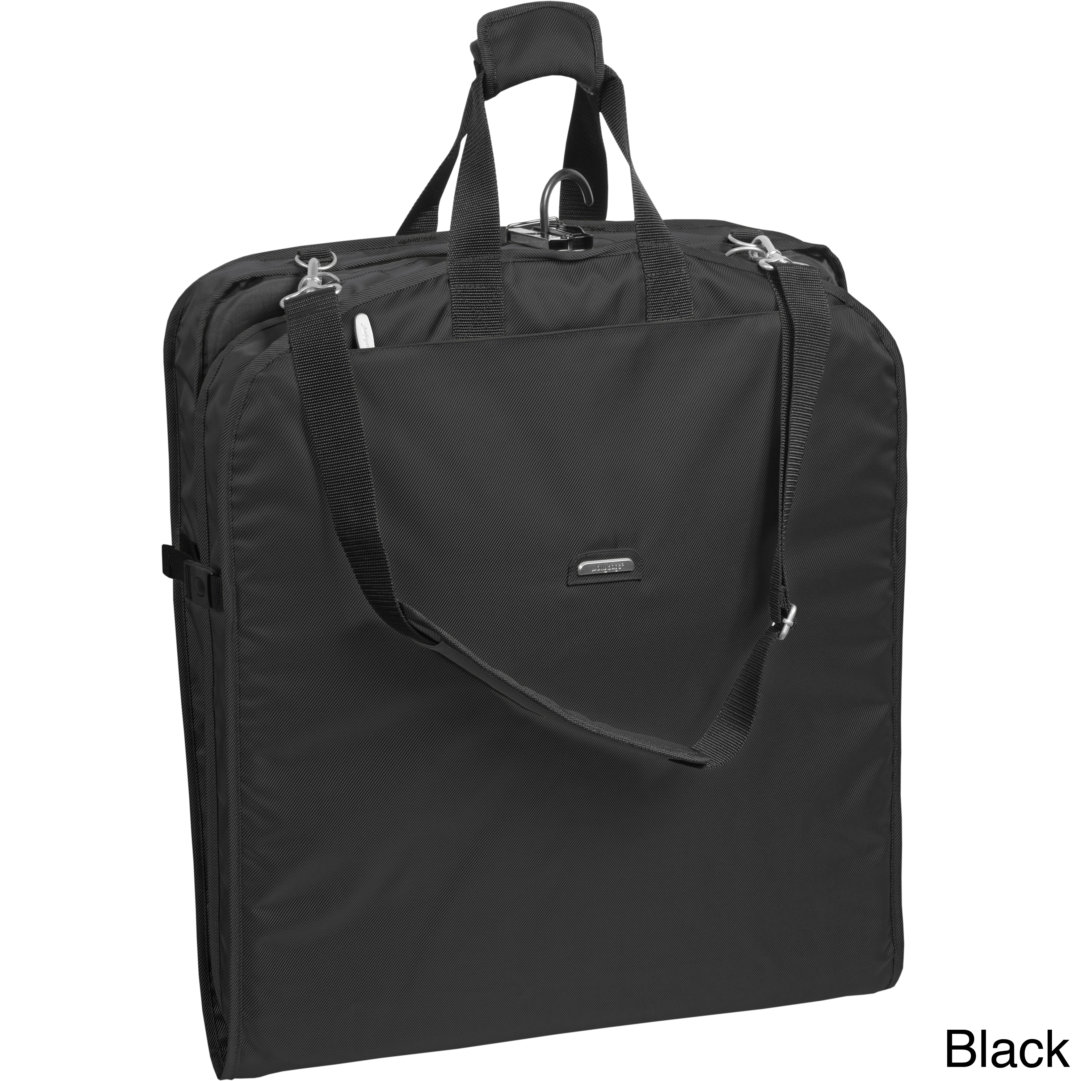 Shop WallyBags 52-inch Shoulder Strap Garment Bag - Free Shipping Today -  Overstock.com - 7884046 5d736f3b24