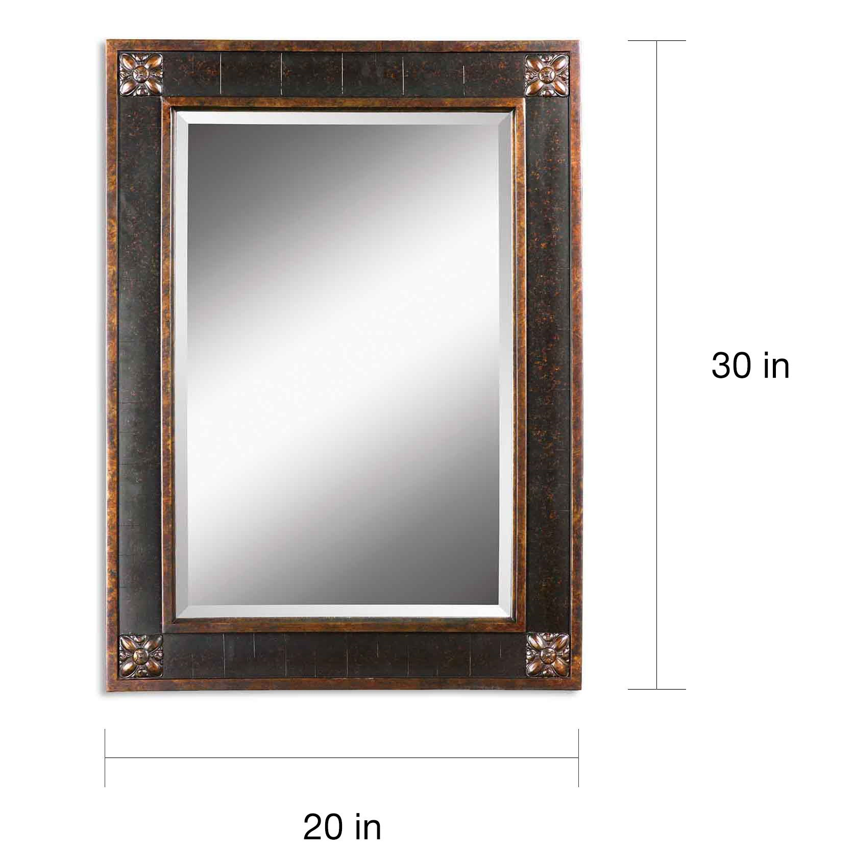 Shop Uttermost \'Bergamo\' Vanity Mirror - Free Shipping Today ...