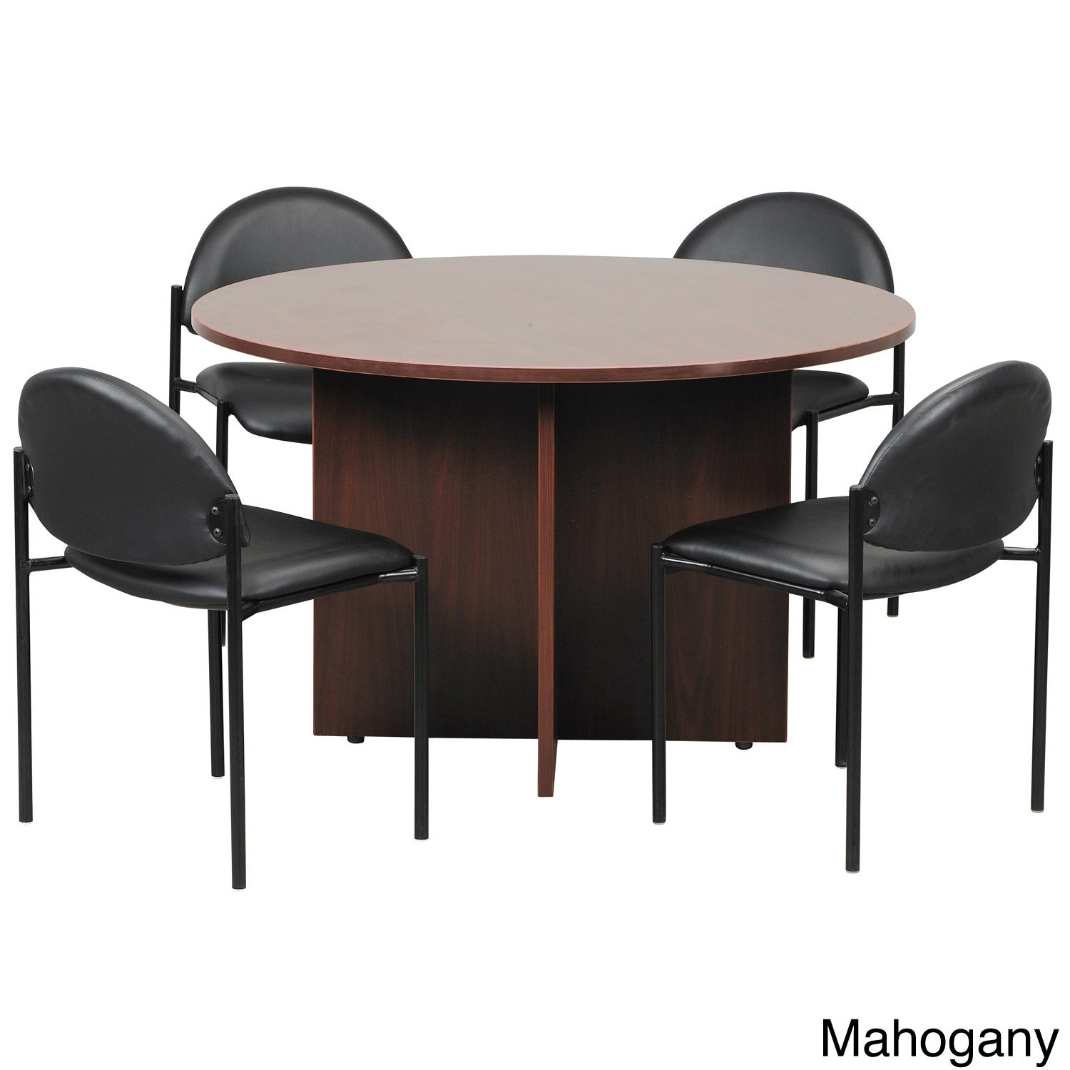 Shop Boss Inch Round Conference Table Free Shipping Today - 42 inch round office table