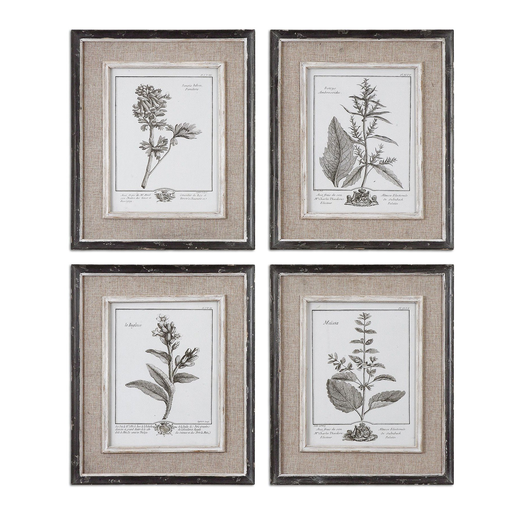 Uttermost Casual Grey Study Framed Art (Set of 4) - Free Shipping ...