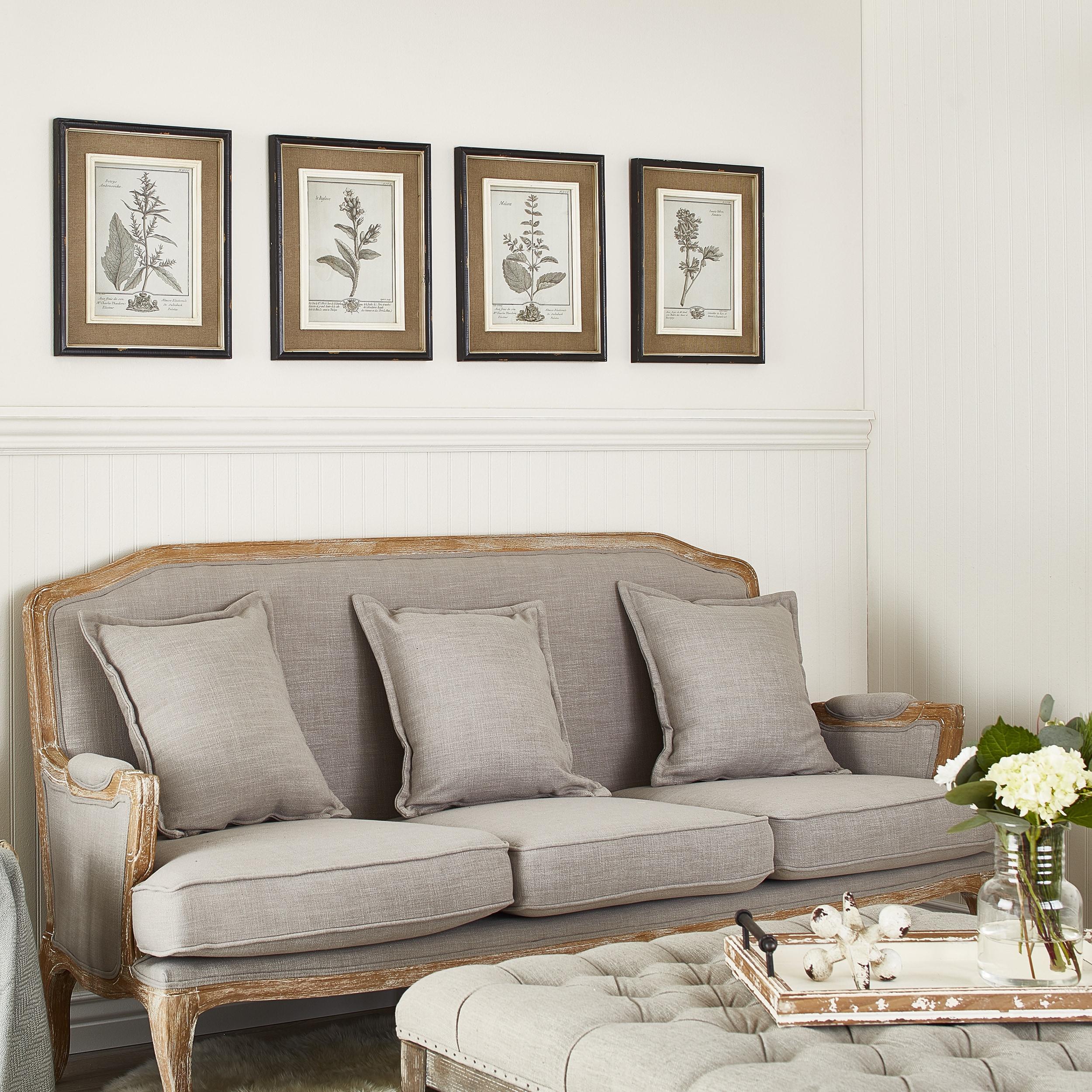 Shop Uttermost Casual Grey Study Framed Art (Set of 4) - Free ...