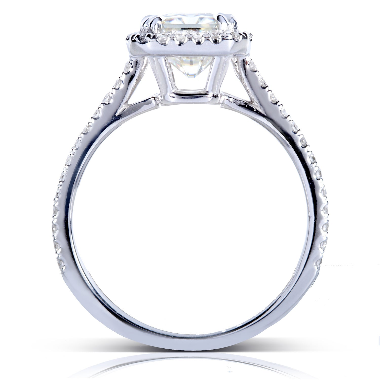 pinterest engagement pin radiant cut ring beautiful rings halo