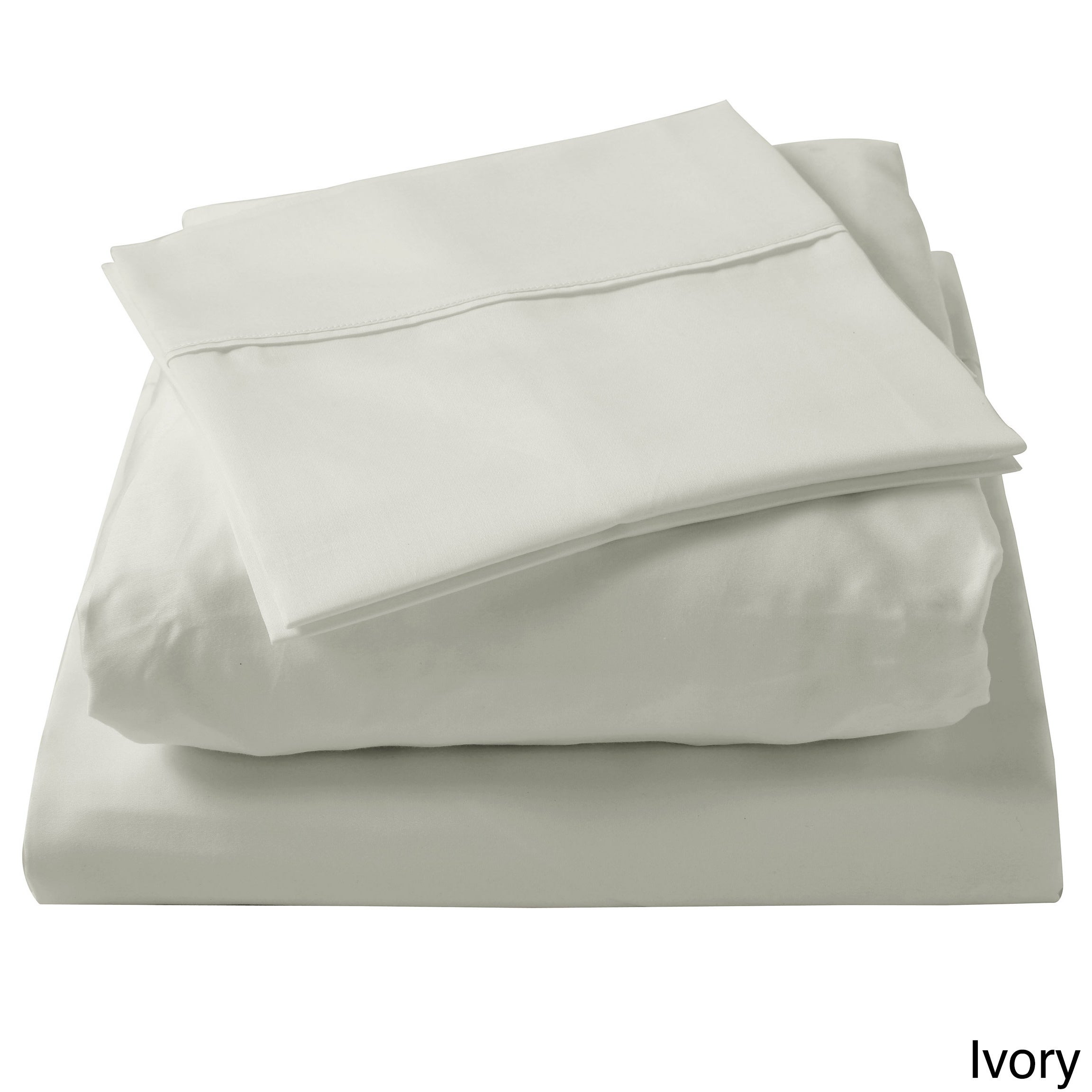 Brielle 100 Percent Egyptian Cotton Sateen 630 Thread Count Sheet Set    Free Shipping On Orders Over $45   Overstock   15283128