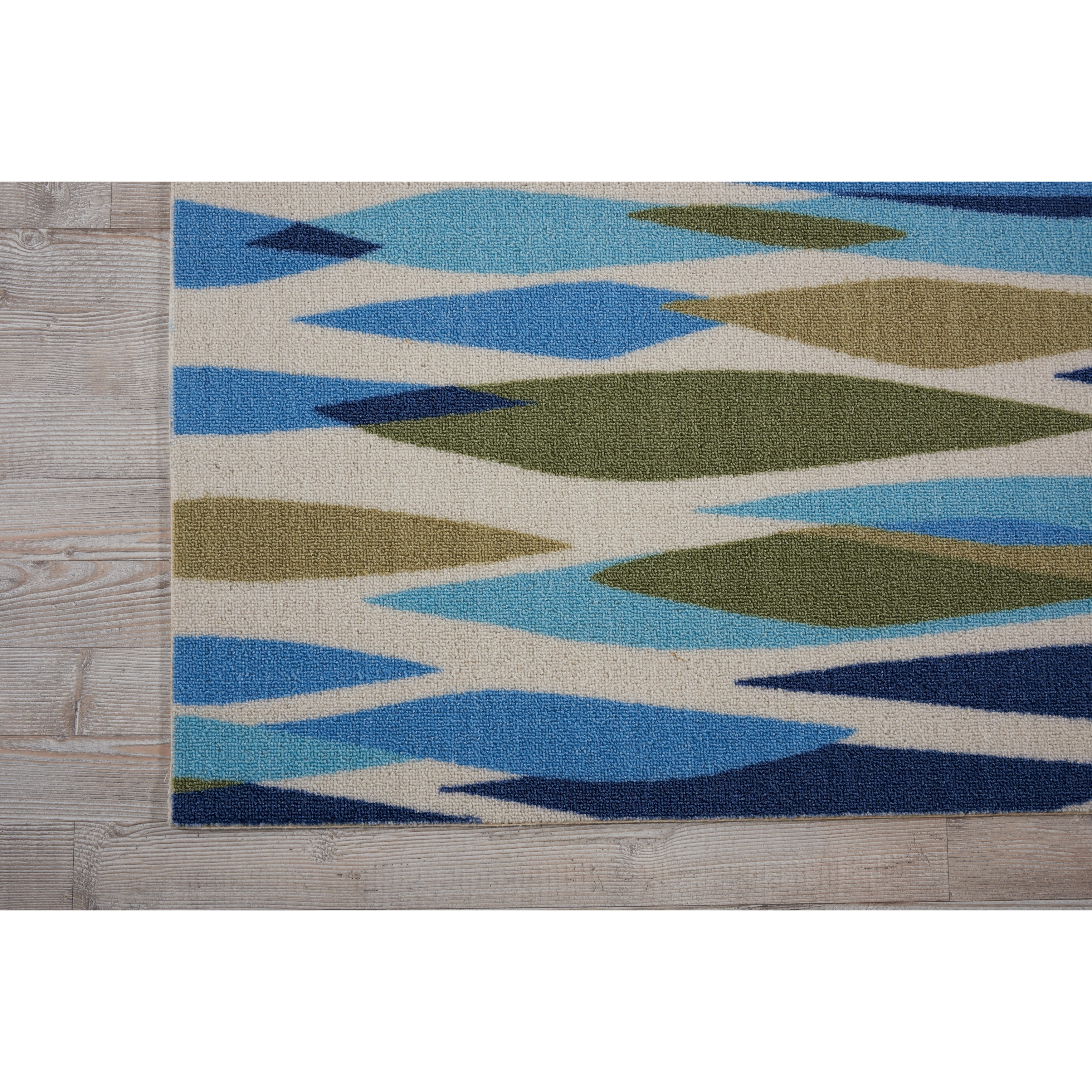 Relatively Waverly Sun N' Shade Bits & Pieces Seaglass Area Rug by Nourison  TI07