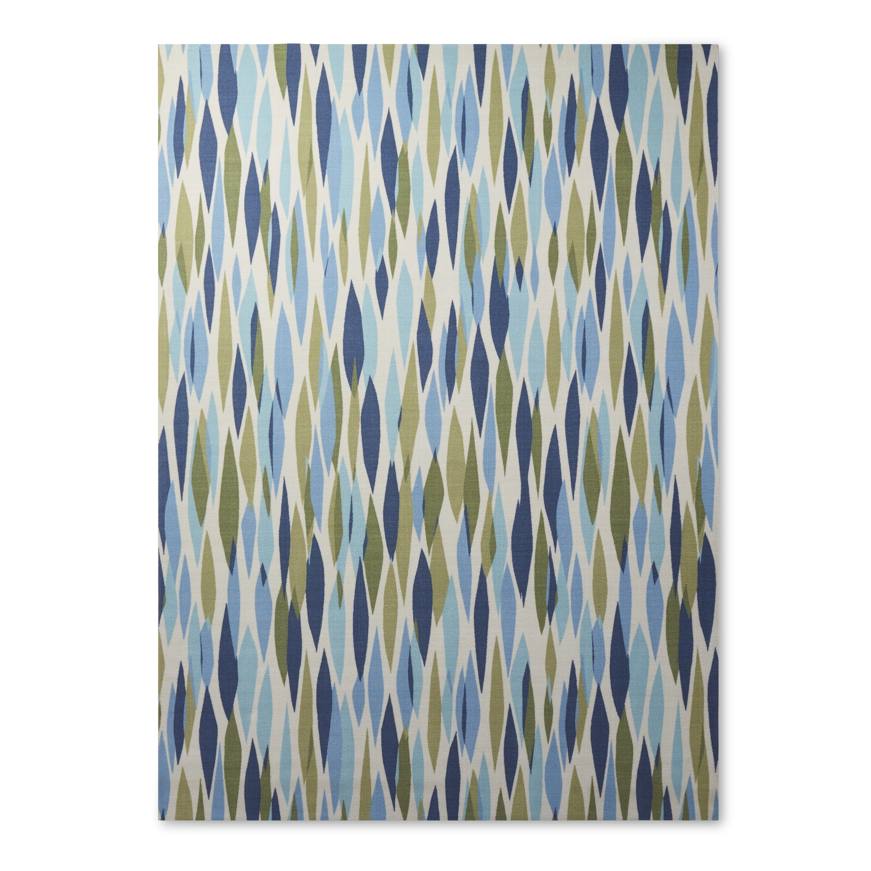 Top Waverly Sun N' Shade Bits & Pieces Seaglass Area Rug by Nourison  JN04