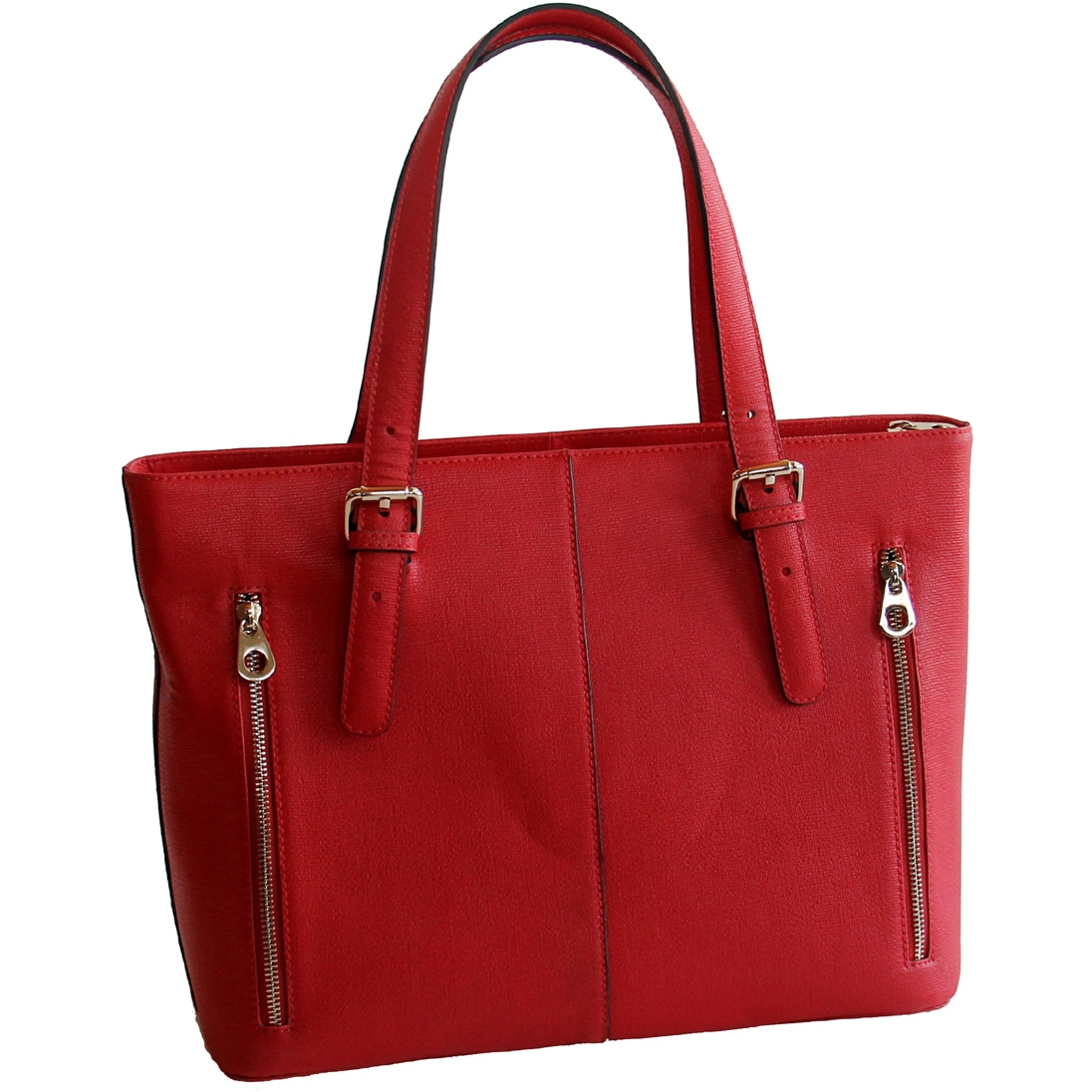 542b512bd69a Concealed Carrie Concealed Firearm Smooth Leather Tote Bag