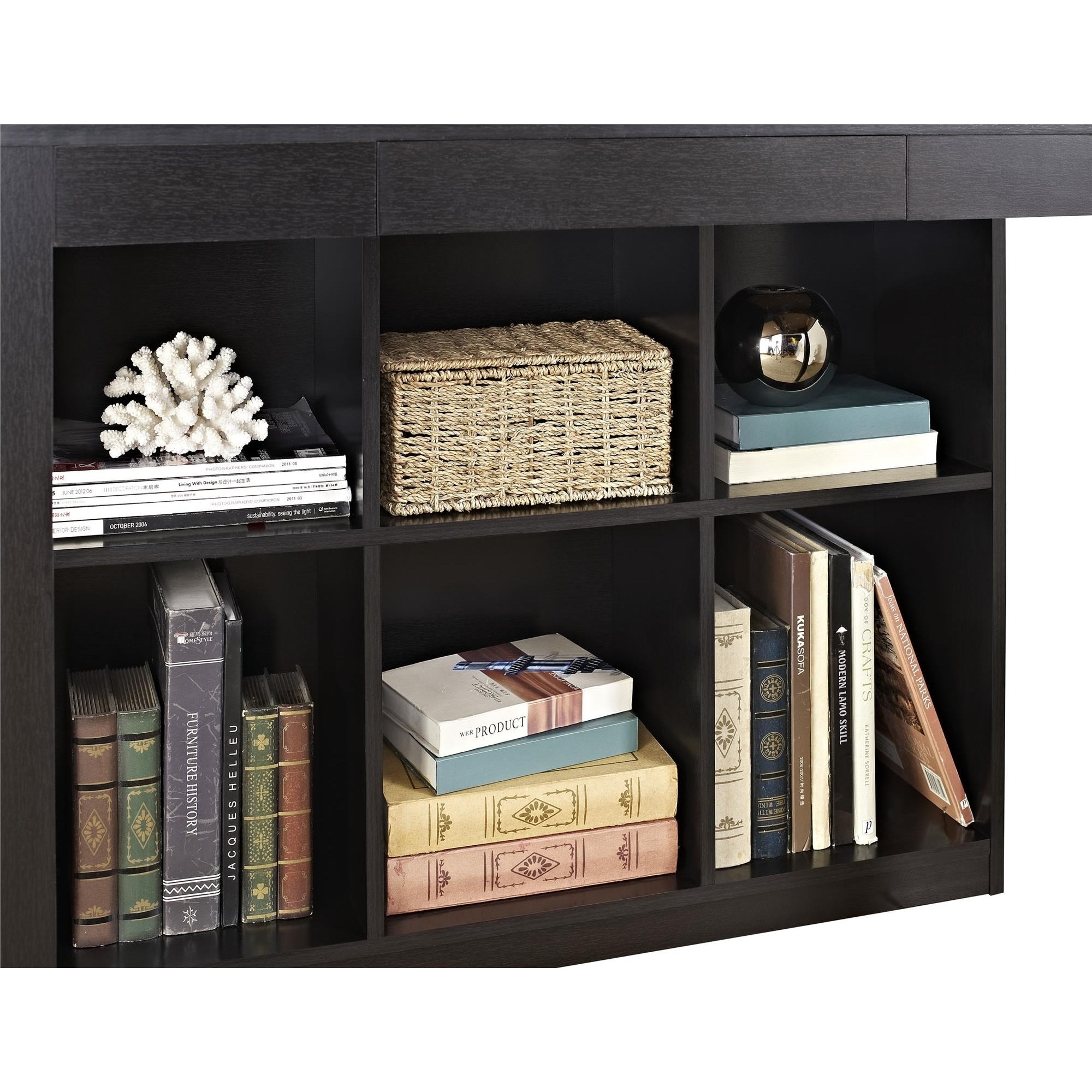 Avenue Greene Jack Desk with Cubbies - Free Shipping Today - Overstock.com  - 15291648