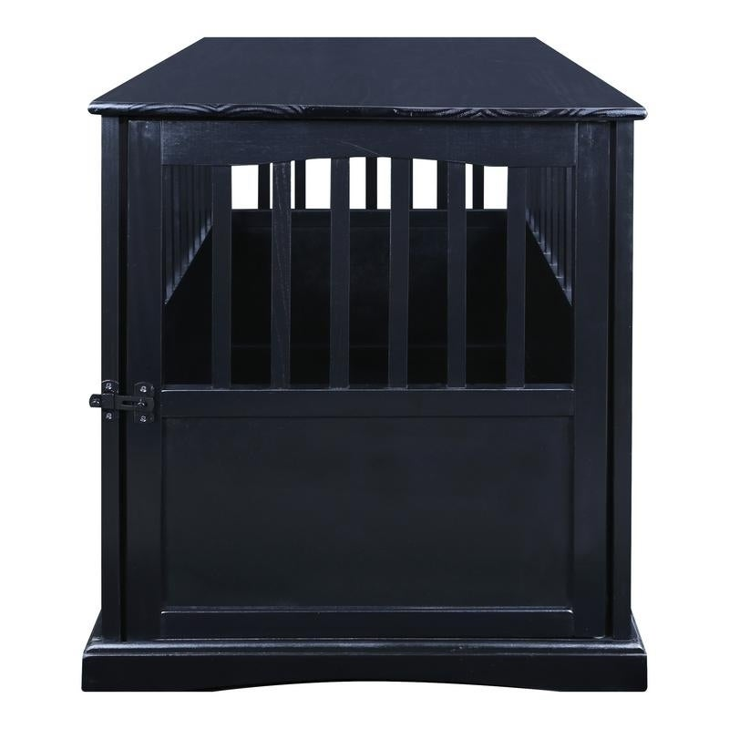 Superieur Shop Wooden End Table And Pet Crate   Free Shipping Today   Overstock.com    7916025