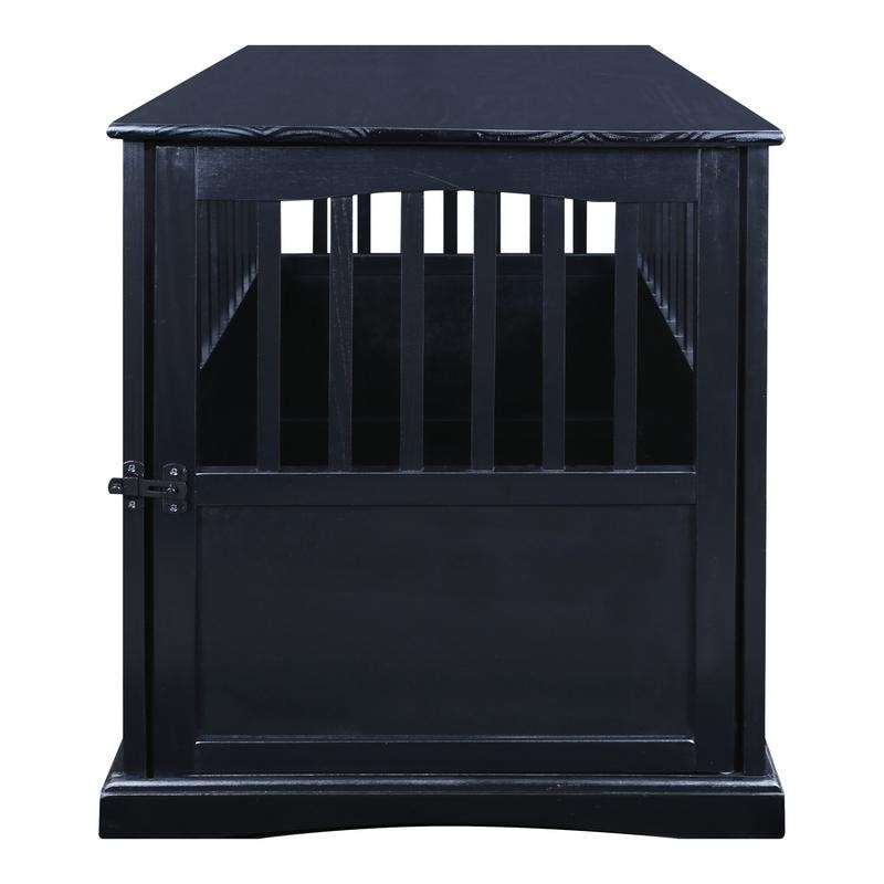 Charmant Shop Wooden End Table And Pet Crate   Free Shipping Today   Overstock.com    7916025